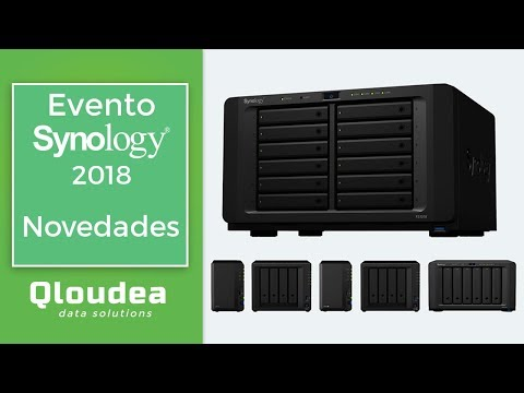 Nuevos Synology 2018 - Servidores NAS para empresa y hogar - Synology Event 2018