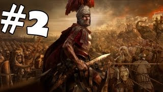 Total War Rome 2 Walkthrough Part 2 Gameplay Review Lets Play Playthrough Campaign HD