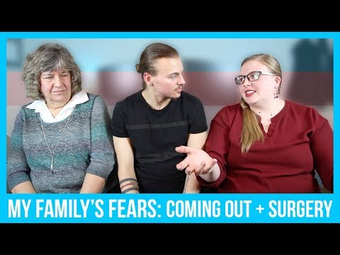 My Family's Fears - Coming Out + Surgery  || Jeff Miller