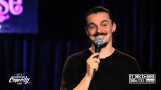 "SERGIU - ""Gelozie, stiri si SMS-uri"" - Best of Stand-Up Comedy 2013"