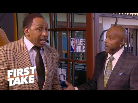 Stephen A., Tim Hardaway Sr. debate top 5 all-time crossover dribbles | First Take