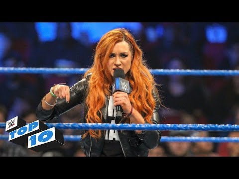Top 10 SmackDown Live moments: WWE Top 10, December 18, 2018