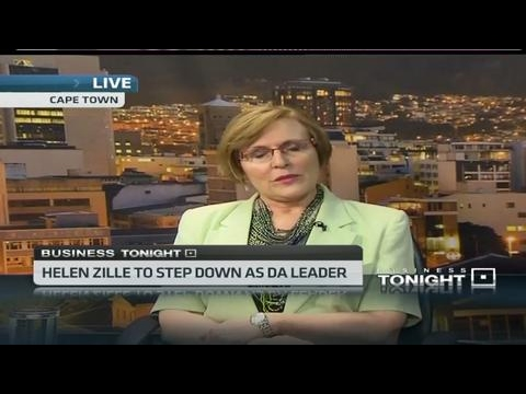 Helen Zille to step down as DA leader