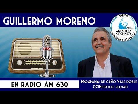Guillermo Moreno en AM 630 31/01/18