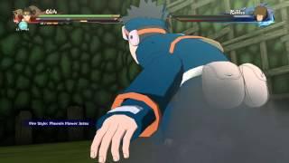 Naruto Shippuden Ultimate Ninja Storm 4 Obito Vs Taiseki Fire Style Fire Ball Jutsu thumbnail