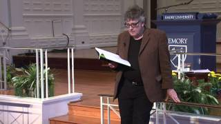 Poet Paul Muldoon reads at Emory University