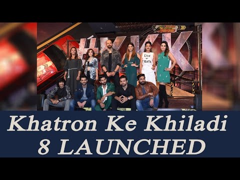 Khatron Ke Khiladi 8 launched by Rohit Shetty and all 12 contestants; Watch Video | FilmiBeat