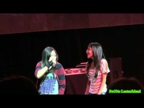 "Charice Surprise Fan (Vanessa) ""One Day"" 98.5 KLUC Summer Block Party Las Vegas 8/23/2011"