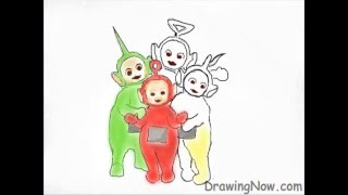 How To Draw Teletubbies