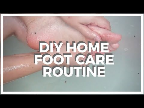 DIY ♥ Home Foot Care Routine