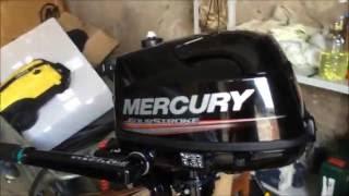 видео Лодочный мотор Mercury F 5 M