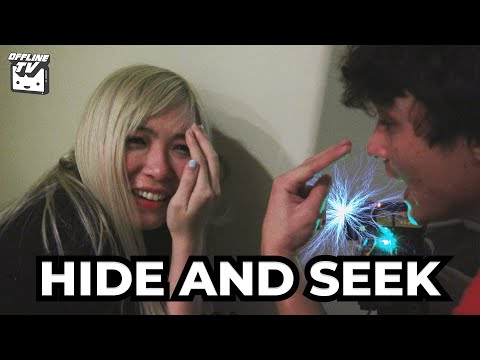 SHE ACTUALLY STARTED CRYING! HIDE AND SEEK VS MICHAEL REEVES (LOSER GETS TASED)