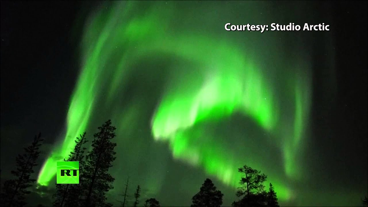 aurora borealis solar storm today - photo #31