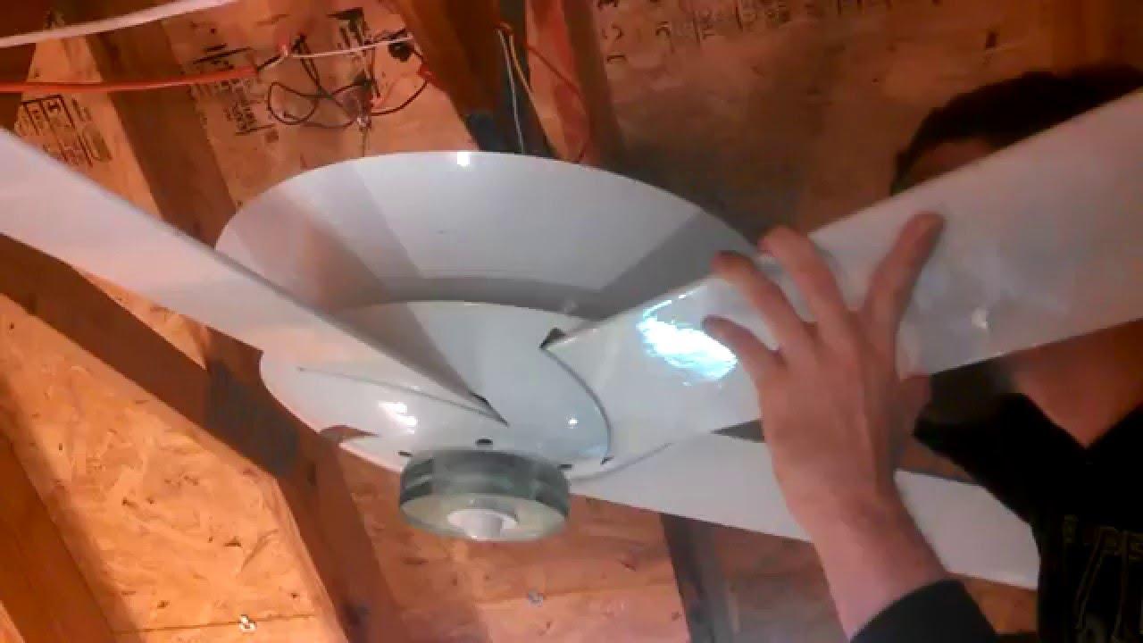 Assembling A Casablanca Venus Halo Ceiling Fan
