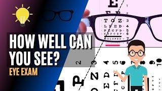 20/20 Eye Exam