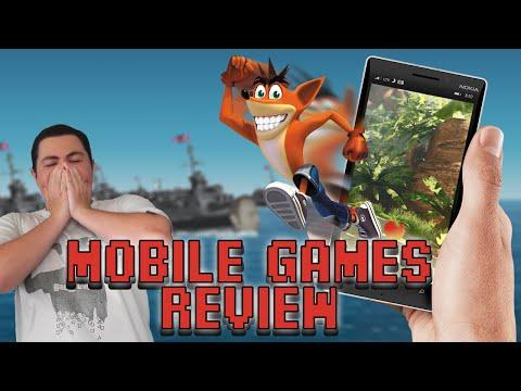 Crash Bandicoot Mobile Games Review - Square Eyed Jak