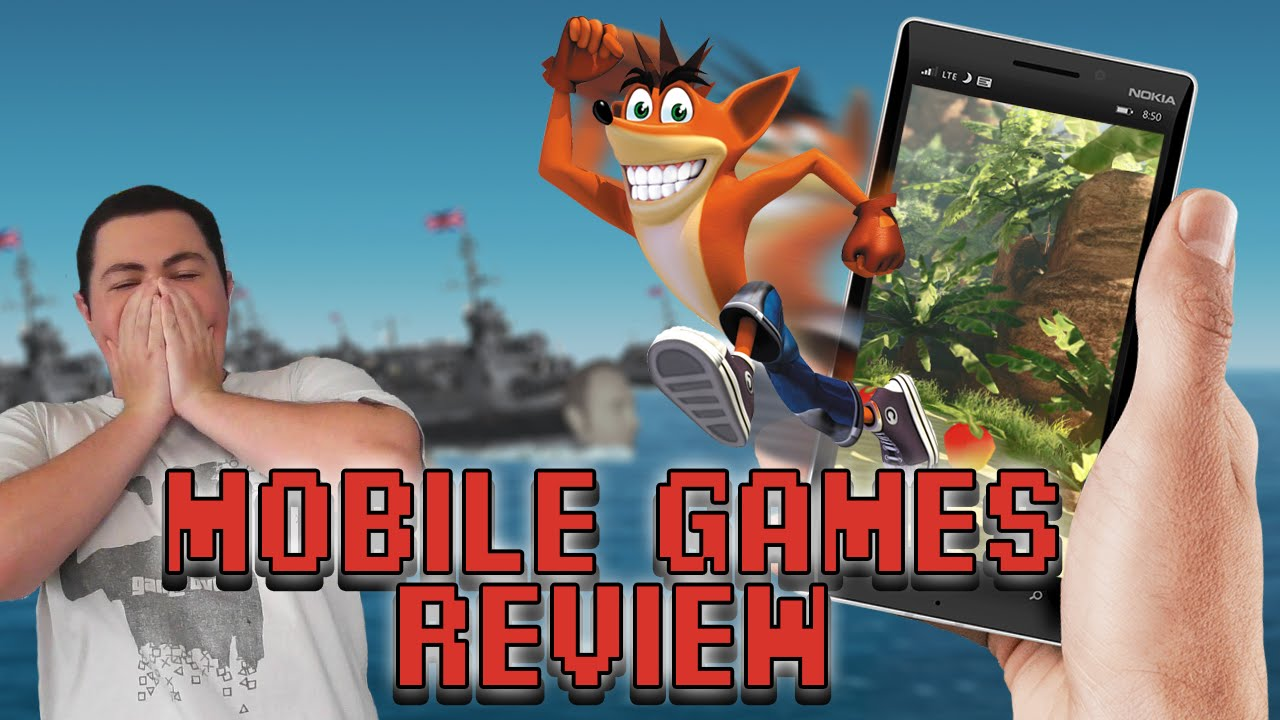 Crash Bandicoot Mobile Games Review - Square Eyed Jak