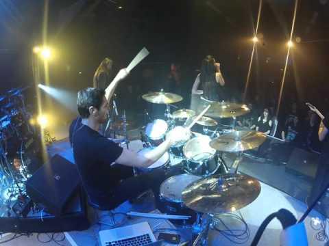 JB Pol -  KERION Drum Cam live - Resurrection