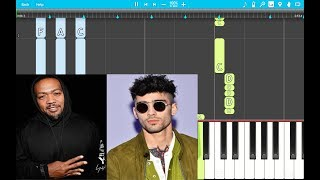 ZAYN - Too Much ft. Timbaland PIANO EASY (Piano Cover)