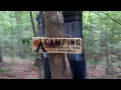 Ozark Trial/ NW Territory tent camping(Gone Wild)