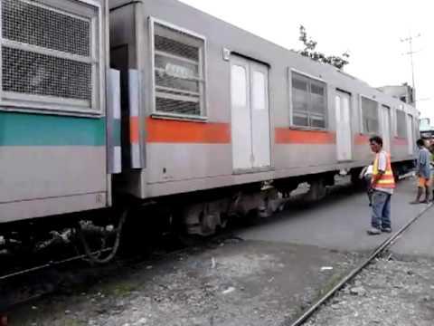 PNR EMU at Teresa St. Sta. Mesa, Manila