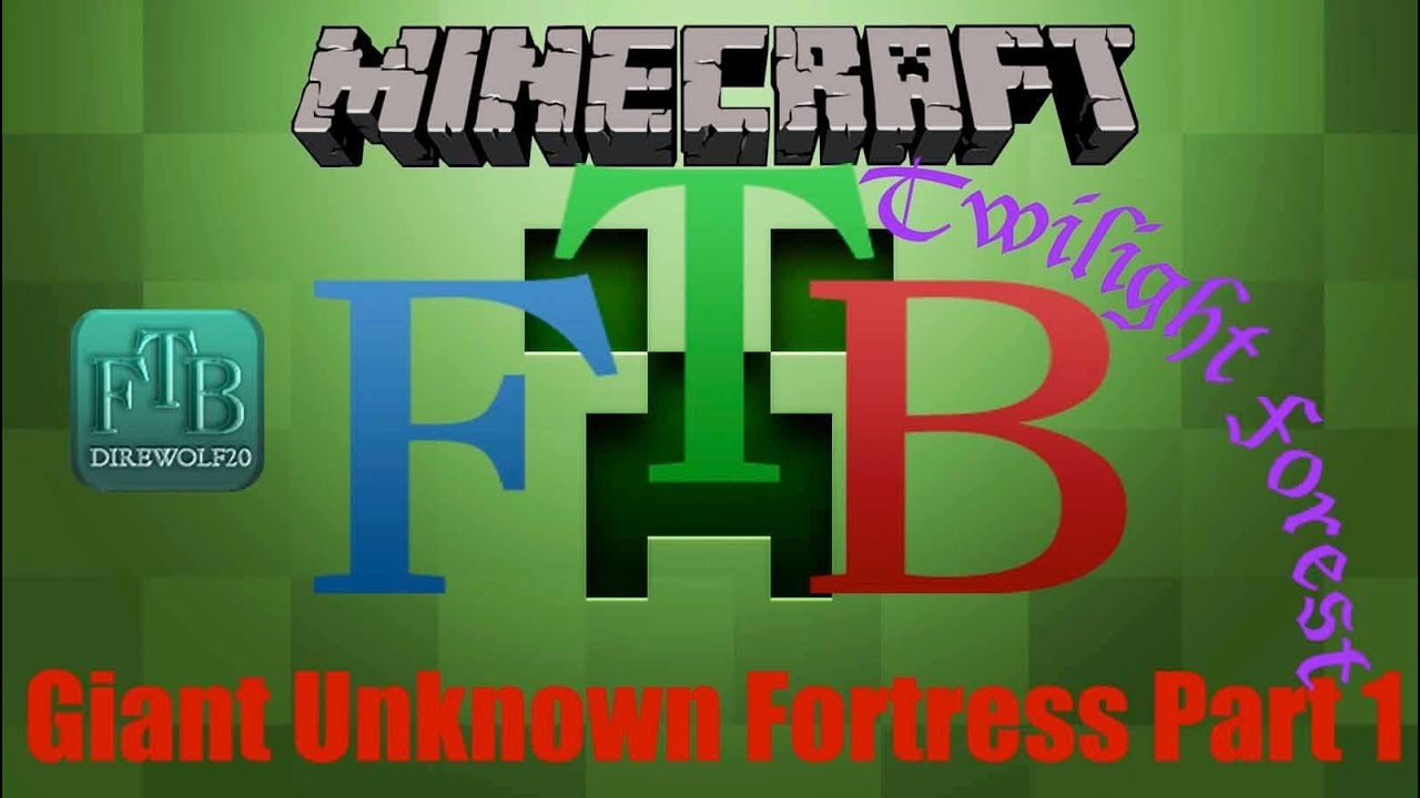 Ftb A Giant Fortress In The Twilight Forest Direwold20 Mod