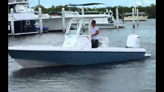 Everglades Boats Speed Blue Metallic 243CC - Yacht Works