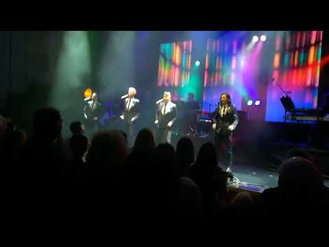 Collabro HOME tour Opening night rpool Philharmonic 241017  Frankie Valli and the 4 Seasons