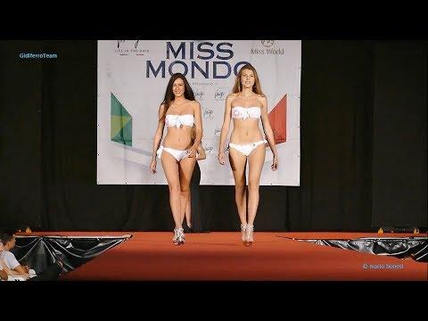 Miss Mondo Italia 2017 Miss Lugo Sfilata Bikini e Abito-Prima parte