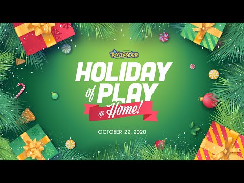 The Toy Insider's Holiday of Play @ Home Event: Oct. 22!