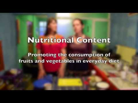 Food Security Tutorial: Healthy Food Demonstration Class