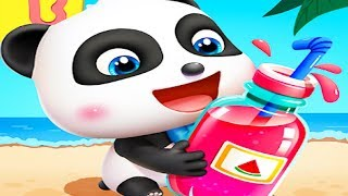 Baby Panda's Juice Shop - Juice Factory -  Join The Fun With Little Panda Kids Game