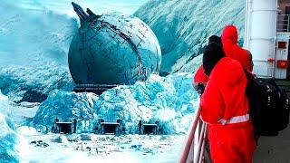 Учёные Обнаружили в Антарктиде Вход в Гигантскую Секретную Базу