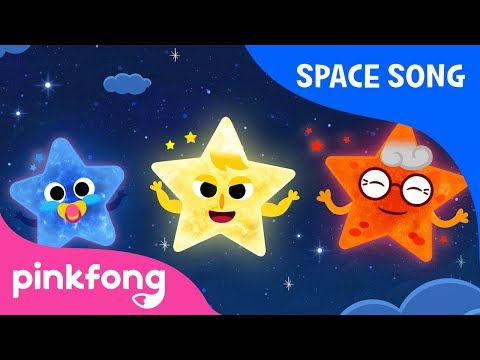 Stars | Space Song | Pinkfong Songs for Children