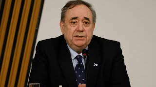 video: Alex Salmond calls for officials to 'consider their position' over unlawful harassment investigation