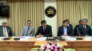 second bi monthly monetary policy 2015 16 governor dr raghuram rajans press briefing