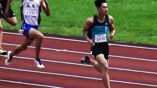 【 104 年全國中等學校運動會 】-- 高男 200M 準決賽(楊俊瀚-- 破大會紀錄)--- 4/29