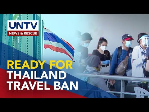 Filipinos in Thailand ready for possible travel ban due to Delta variant