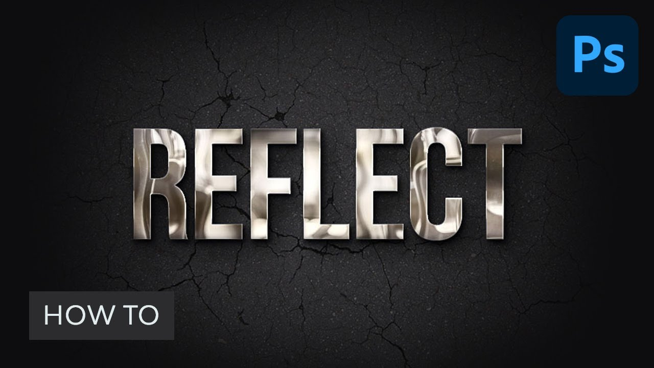 How to Create a Realistic Chrome Text Effect in Adobe Photoshop