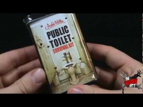 Random Spot - Archie McPhee Public Toilet Survival Kit ...