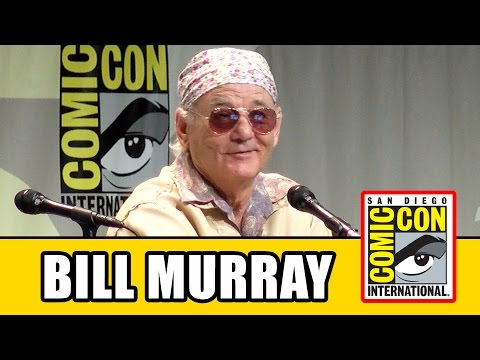 Bill Murray Comic Con Panel - Rock the Kasbah, Han Solo Movie & Ghostbusters