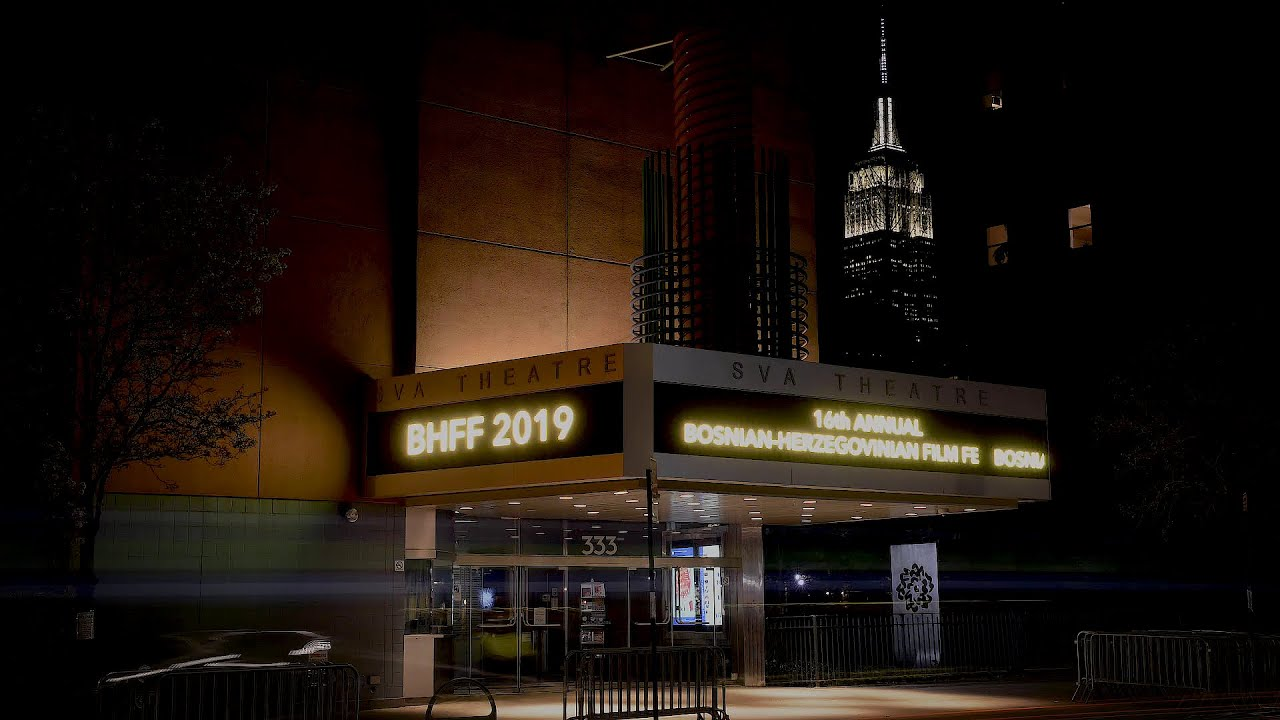 BHFF 2019   Opening Ceremony and Q&A w Damir Avdagić, Erol Avdović & Ivo Škorić April 10th, 2019
