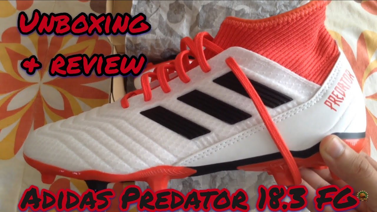 hot sale hot new products cozy fresh Adidas Predator 18.3 FG Cold Blooded Pack - Unboxing & Review