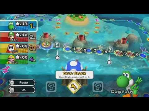 Mario Party 9 Story Mode Part 4 - Blooper Beach