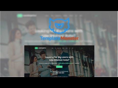 Loan Dolphins - Loan Company One Page WordPress Theme #61151