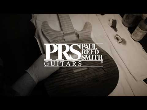 """The """"Grey Black Fade"""" Stain Process   PRS Guitars"""