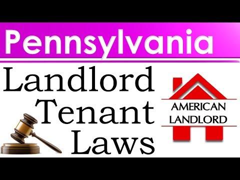 Pennsylvania Landlord Tenant Laws | American Landlord