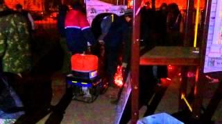 Hilton: cлом детской площадки на Таганке -1