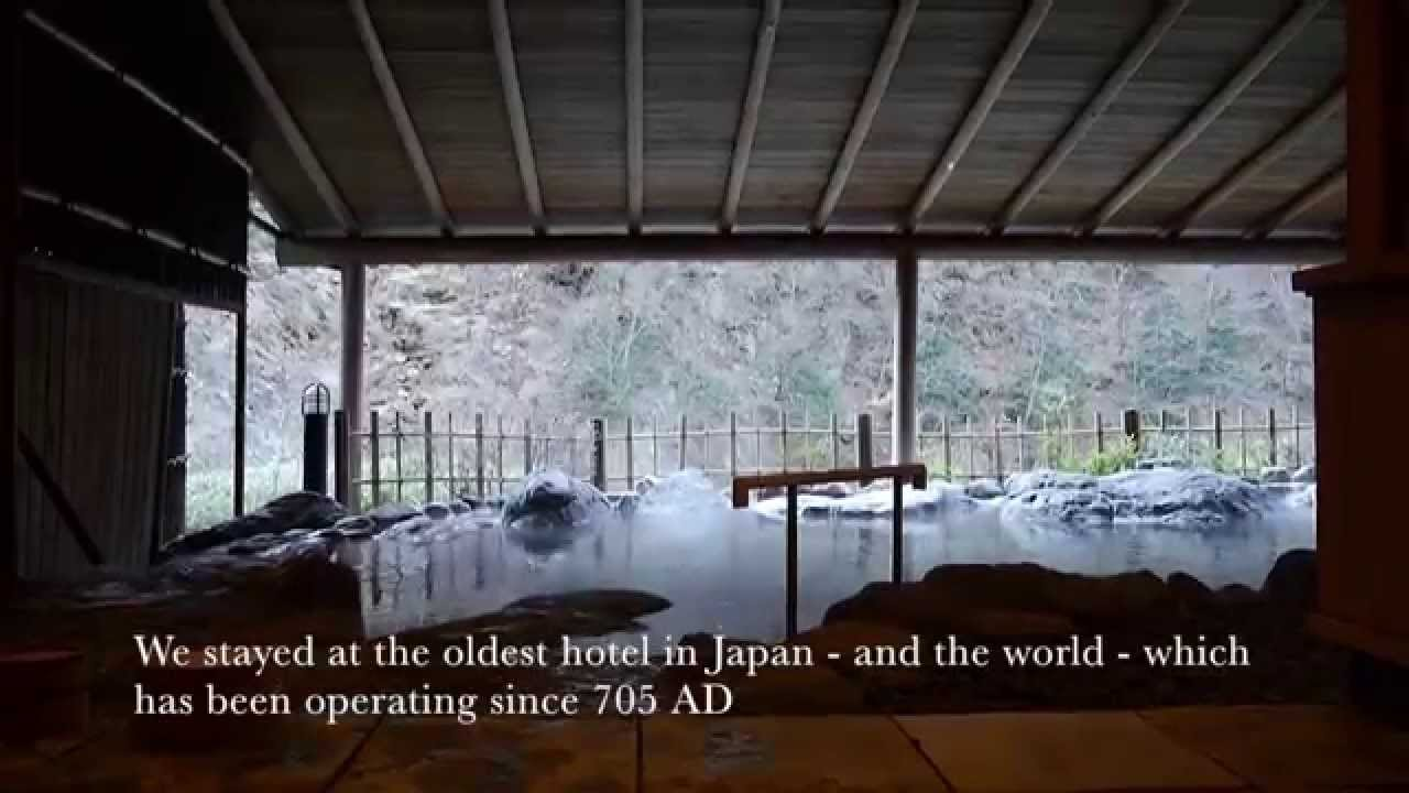 We Stayed At The Oldest Hotel In Japan   And The World   Which Has Been  Operating Since 705 AD