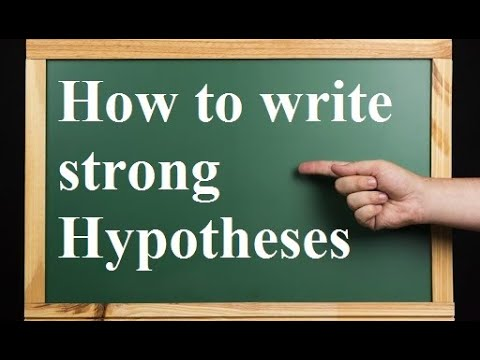 Download how to write hypothesis in research paper i step by step guide